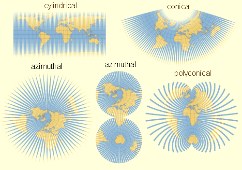 Globe Map Projections.Unfolding The Earth Myriahedral Projections
